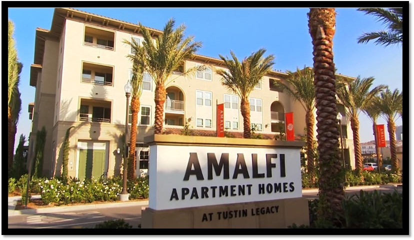 amalfi apartment homes at tustin legacy is complete