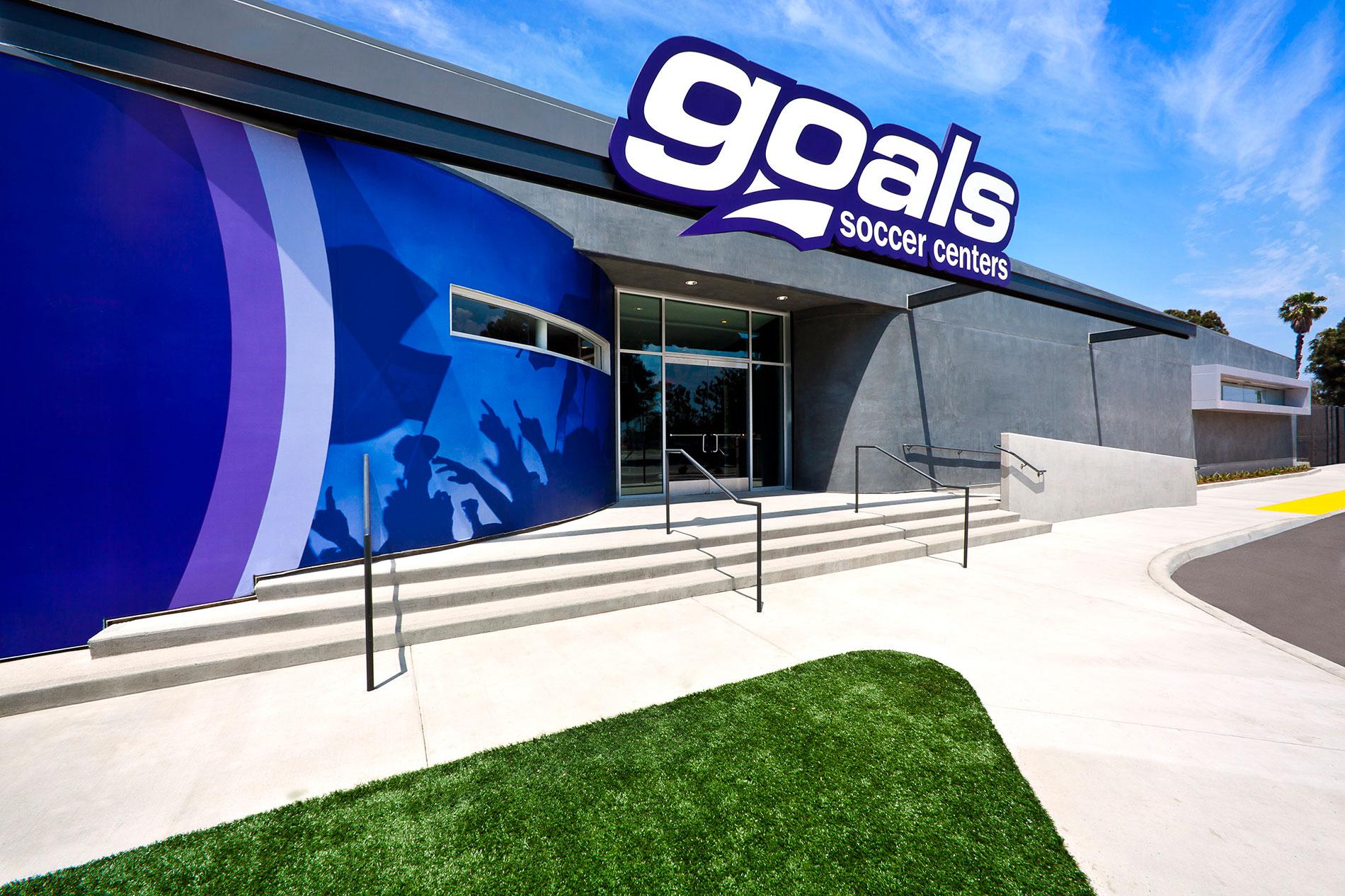 Goals soccer center snyder langston for Langston builders